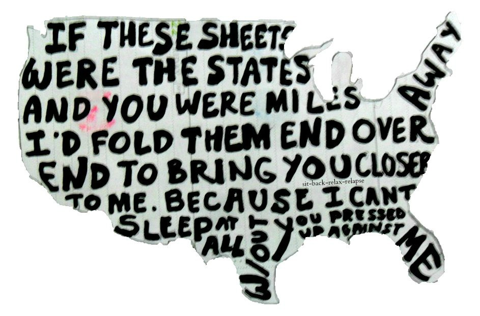 If These Sheets Were States // All Time Low