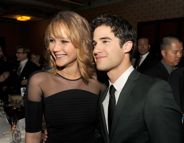 Jennifer Lawrence & Darren Criss