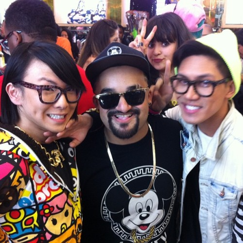 Congrats @Funkyfantastic for a successful launch! Love the new @Joyrich #Disney collection!!! Kisses to @JohnnyAnastacio #JohnnyFab! Where's you be at @GabeDeDios?? We be missing yous!