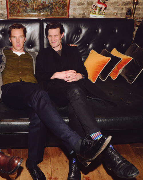 Matt and Benedict