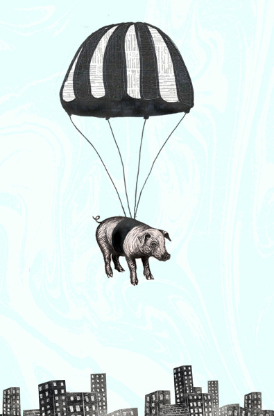 because pigs could fly in so many other ways.