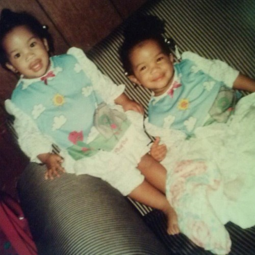 Guess who these two pretty babies are??!