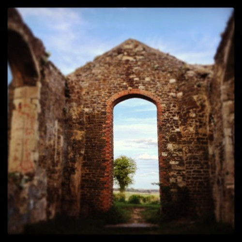 #ruins #haunted #church #old #scenery #iphoneography #thisshitisawesome