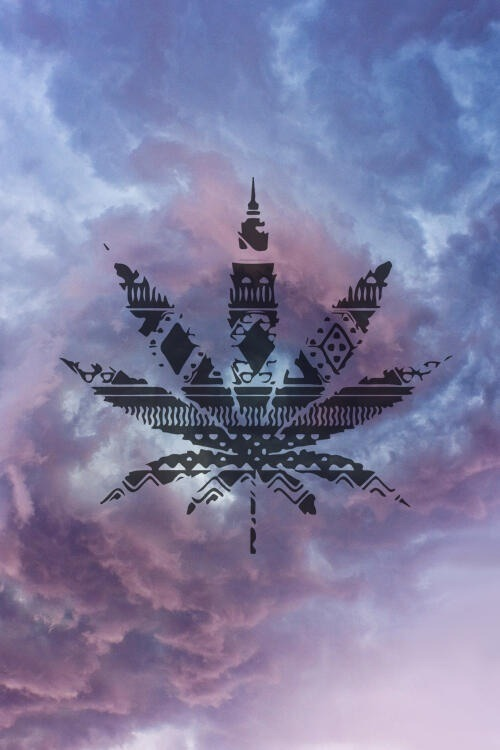 thatsgoodweed:  Native patterned weed skys