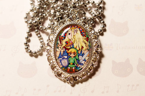 Legend of Zelda cameo ($20) available from jennyloveskawaii