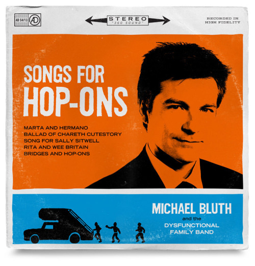 slacktory:  Arrested Development record sleeves