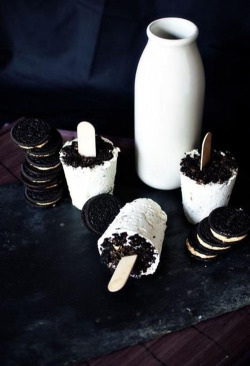 jaimejustelaphoto:  oreo ice cream