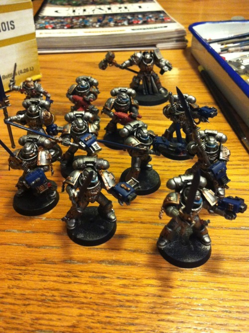 Grey Knights are starting to come together.