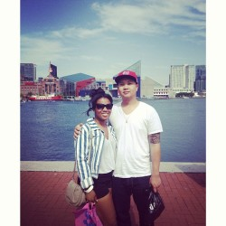 inner harbor with @r0csfinest 👫