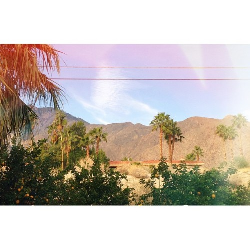Good morning again Palm Springs. #heartsinpalmsprings