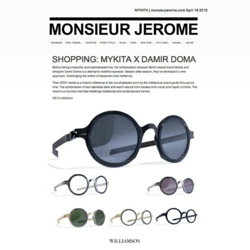 'Shopping' for @mykitaofficial with @monsieurjerome!