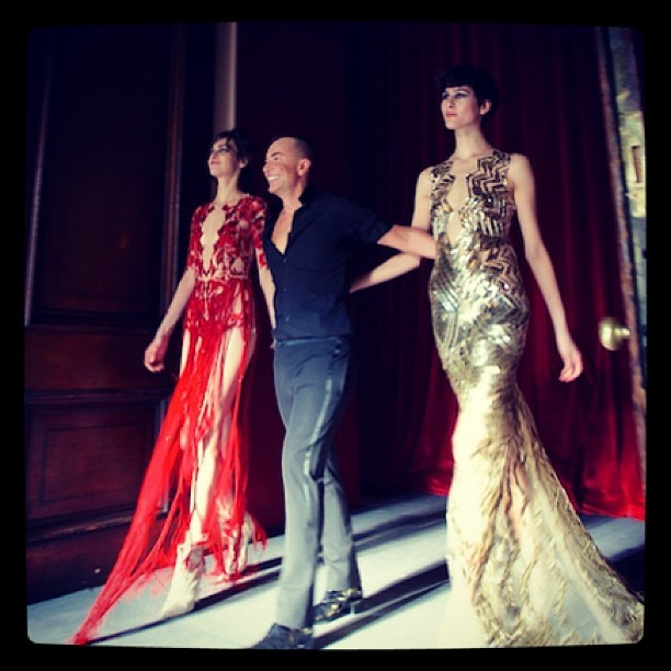 @julienmacdonald ready for the red carpet @mybeautifulcity