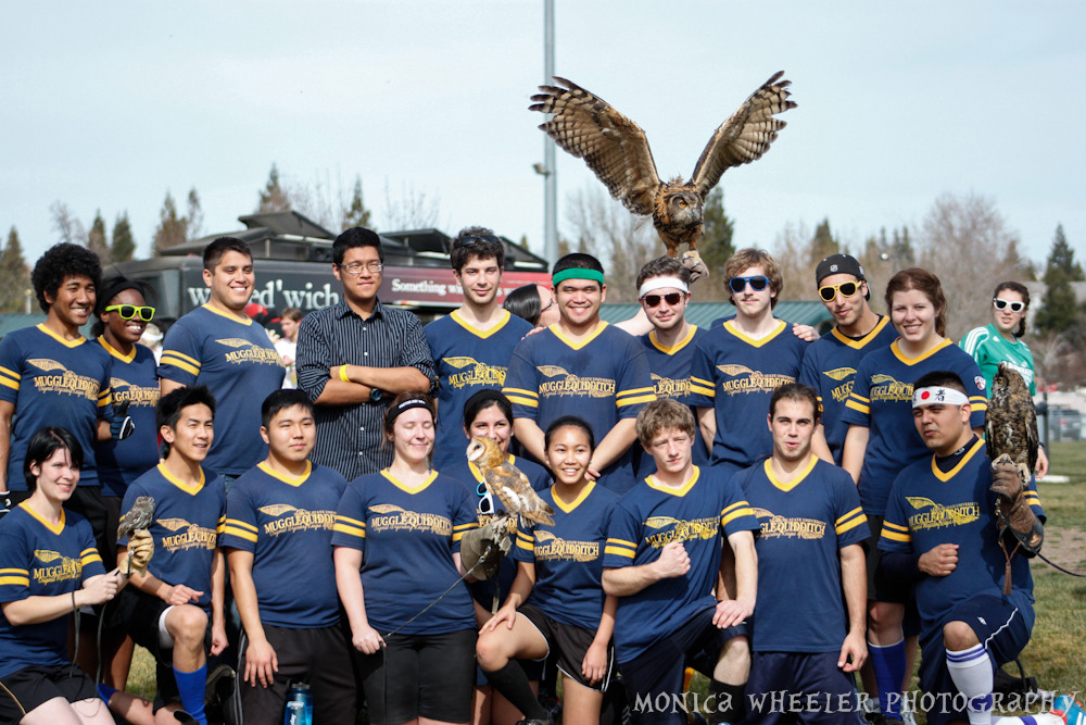 fuckyesquidditch:  misfitmonica:  Coolest team photo ever? I think so. San Jose Owls.  SHUT UP THIS IS AWESOME!!! nicely done, madam.  Ok, crap. You guys win. As the Badassilisk's manager I now have to find a Basilisk. Which is going to involve talking to a lizard sanctuary or something. I don't think my team is going to be happy when I tell them I need them to pose with several big ass lizards.  Seriously though, awesome awesome job Owls =)