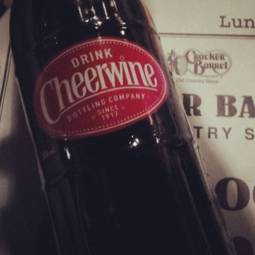 Cheerwine. Cracker Barrel. Colorado.