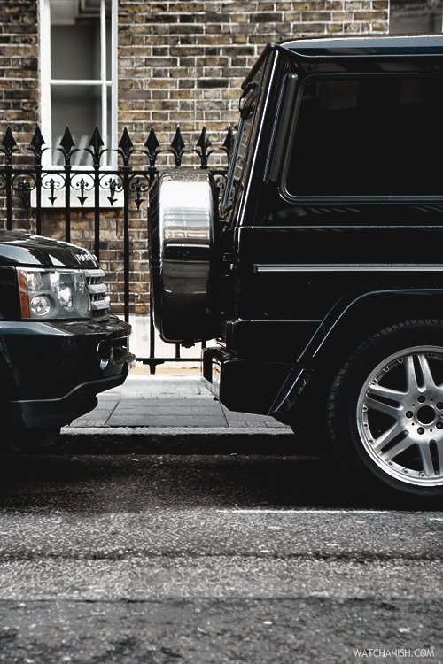 watchanish:  Carstalking: London G
