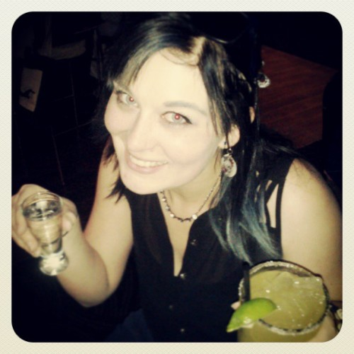 @k_mac044 #drinking it up #patron #tequila #studiomoviegrill #Margarita #startrek