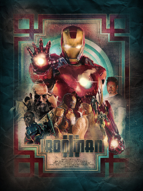'Iron Man 3' Poster Design by Richard Davies