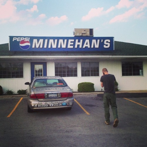 Had a fun time with mike today (at Minnehan's Fun Center)