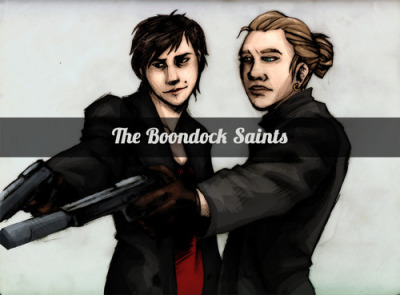 RULE 63 BOONDOCK SAINTS. It was very late and these bitches happened and I'm not even sorry. In my mind, this would be the ONLY way those movies could be made just slightly more awesome than they are.