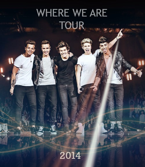 intoomuchpayne:  Where We Are Tour 2014