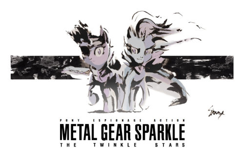 fisherpon:  Metal Gear Sparkle: The Twinkle Stars by *sioux092310  Mmmm.. Inspiration<3