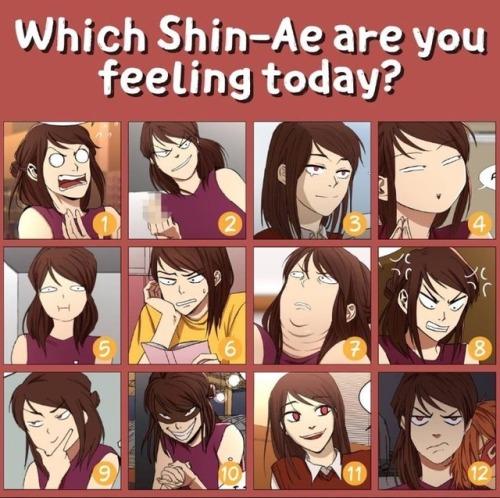 i love yoo shin ae moods webtoon quimchee