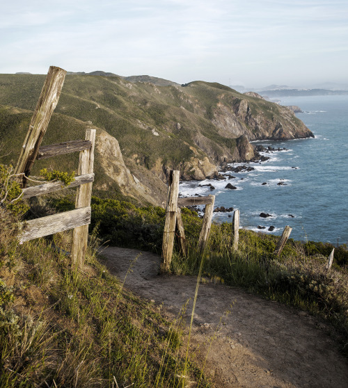benjamingrimes:  Muir Beach Overlook. California is one of the most beautiful places in the world.