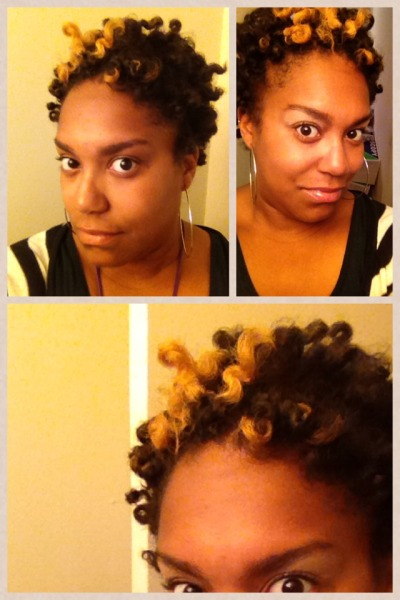 Dry twist out #twa #naturalista