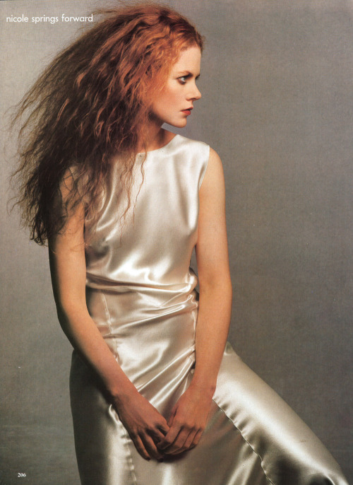 Nicole Kidman for Vogue 02/95