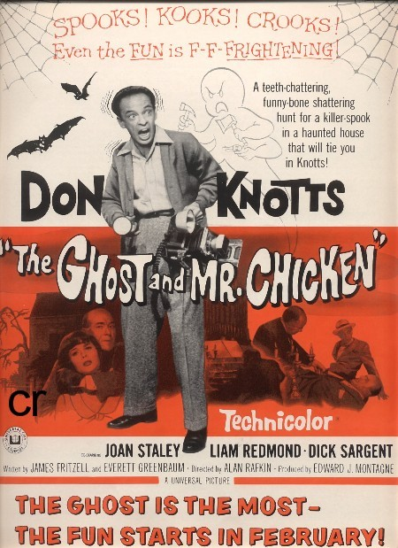 cryptofwrestling:  The Ghost And Mr. Chicken(1966)