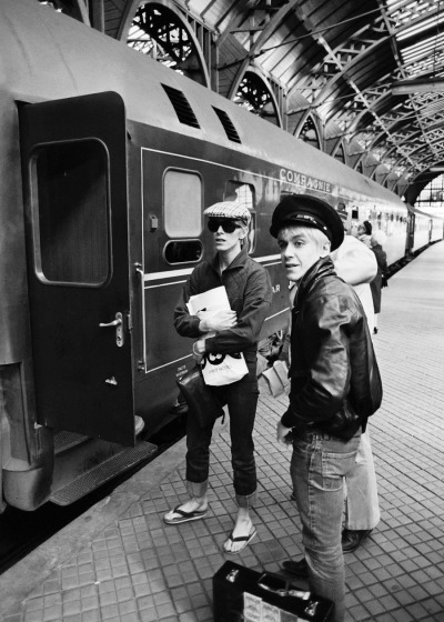 aconversationoncool:  David & Iggy, Berlin.