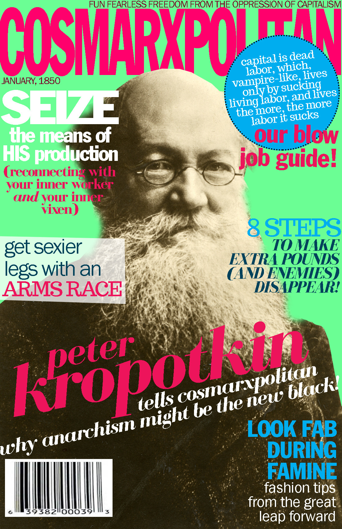 cosmarxpolitan:  Cosmarxpolitan, Issue 6 8 steps to make extra pounds (and enemies) disappear  So great