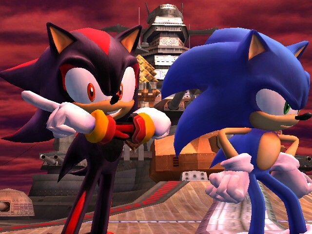 youre2slow:  gintoshika:  Shadow and sonic personality switch xD  THIS MAKES ME UNCOMFORTABLE