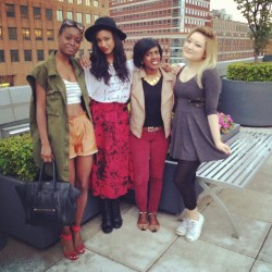 Afternoon in Brooklyn.. @riamichelle @whatashleywears @tineey