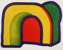 cavetocanvas:  Howard Hodgkin, Arch, 1970-71
