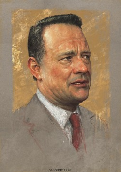 Tom Hanks by samspratt.tumblr.com