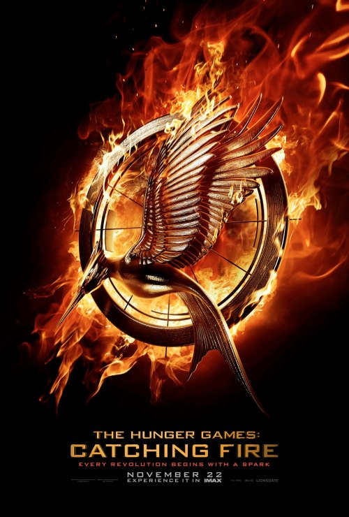First official teaser poster for The Hunger Games: Catching Fire.