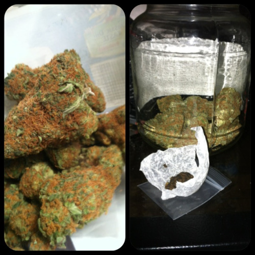 Mango kush and some ooeeyy gooey hash. Yum.