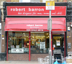 Robert Barron, Walthamstow High Street E17