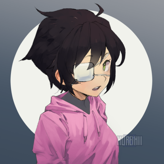 *grumbles in eyepatch on the wrong eye* #picrew#terra