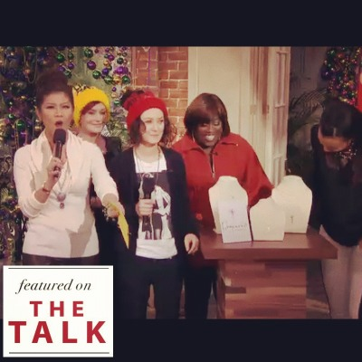 We are SO excited—Dogeared jewelry was featured on The Talk on CBS!
