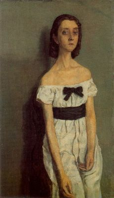 cavetocanvas:  Gwen John, Girl with Bare Shoulders, 1909-10
