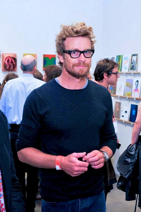 "passionsimonbaker:  Saturday, May 11th 2013  Santa Monica Museum of Art'sSimon Baker calls INCOGNITO an ""art orgy"" in this article from the Hollywood Reporter :(X)"