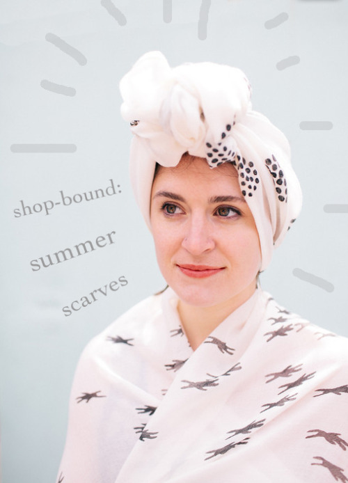 a new batch of Summer Scarves just landed in the shop! Scoop them up before they're gone.