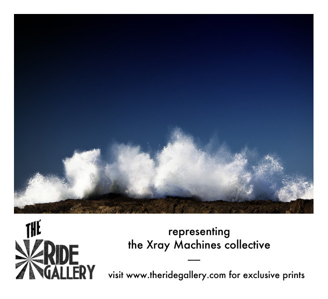 exclusive fine art prints from the Xray Machines collective. available now at www.theridegallery.com