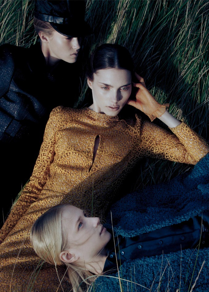 "moldavia:  ""Enchanted"" by Jasper Abels for Prestage Nº5 F/W 2012"
