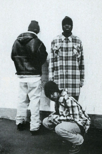 babylonfalling:  Fugees by Rachelle Clinton for Rap Pages (1994)