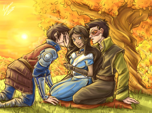 Zutara Week - Day 5 - Jealousy by *sarumanka