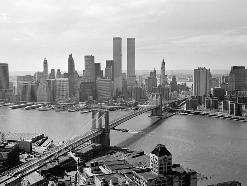 The Brooklyn Bridge in 1978, New York City
