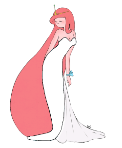 ailurophilist:  Pb's dress is translucent! Made by Ailurophilist